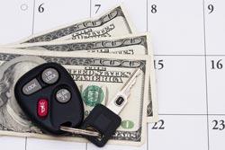 car loan calendar