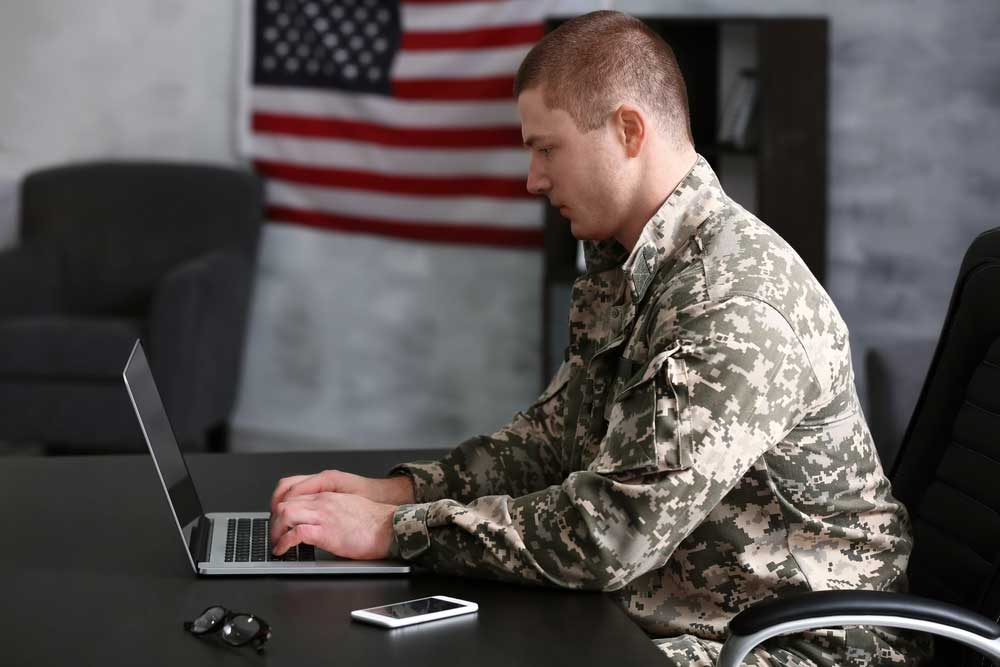 soldier laptop